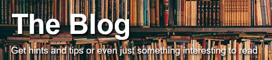Blog text shadowed